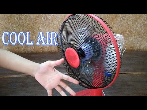 How To Make Air Conditioner At Home - Homemade Air Conditioner - Air Cooler Fan