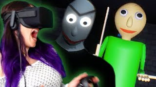 BALDI'S BASICS in VR?! | How to Make Education and Learning TERRIFYING