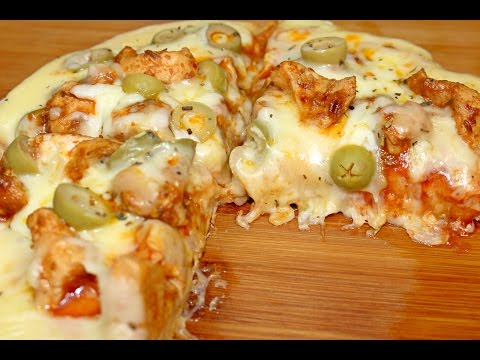 How To Make Chicken Tikka Pizza at Home