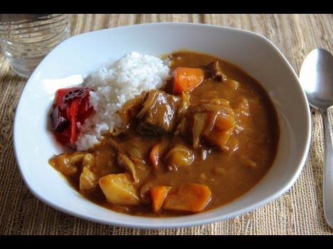 Curry and Rice Recipe - Japanese Cooking 101