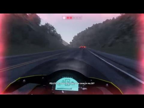 The Crew driving across the usa  on a H2 Ninja
