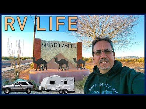 Quartzsite, Arizona: RVing Extravaganza