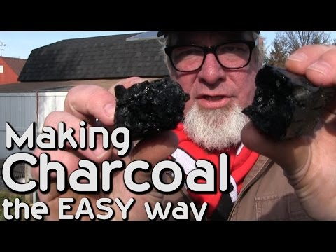 Making Charcoal EASY WAY