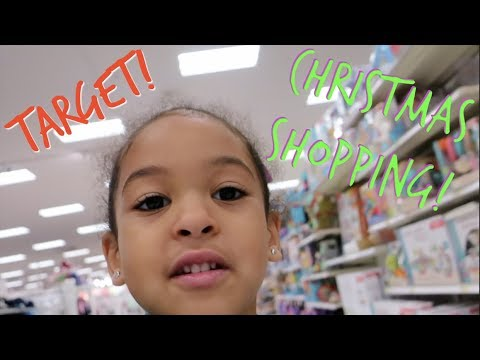 PUTTING UP OUR CHRISTMAS TREE! + CHRISTMAS SHOPPING IN TARGET!