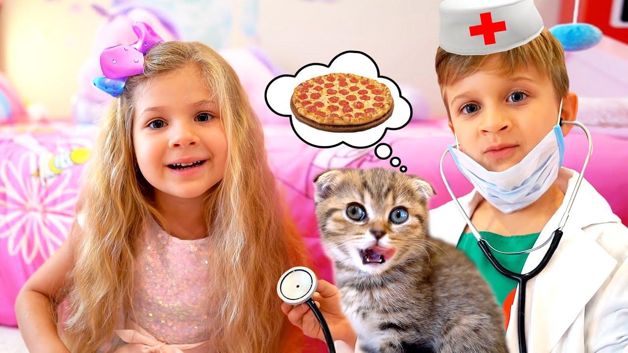 Диана и Рома новые веселые истории для детей