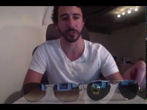 Difference Between Ray-Ban Aviators vs. Cockpit Sunglasses