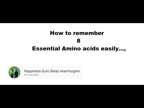How to remember essential amino acids names. *HGSB