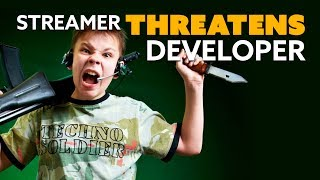 Streamer THREATENS Game Developer Over Ban - The Know Game News