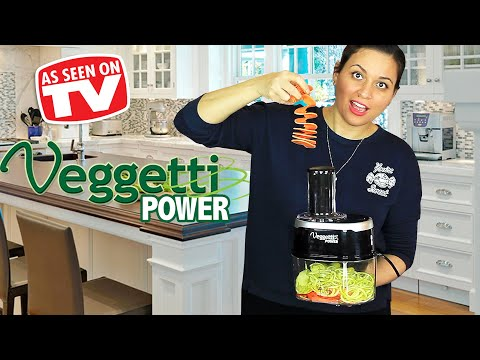 Veggetti Power Review | Testing As Seen on TV Products