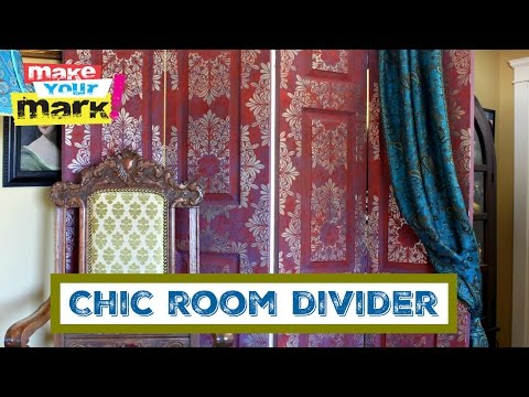 How to: Chic Room Divider