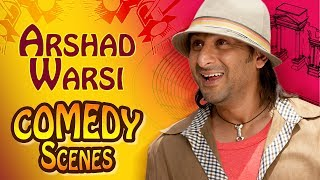 Arshad Warsi Comedy Scenes - Back To Back Comedy - Golmaal Fun Unlimited - Dhammal - #IndianComedy