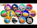 Learning Color Disney Pixar Cars Lightning McQueen Playdoh Play For Kids Car Toys