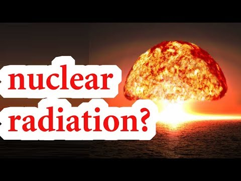 Why take iodine for radiation poisoning ?