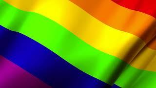 4K Beautiful Double Rainbow Spiritual Realm Animation