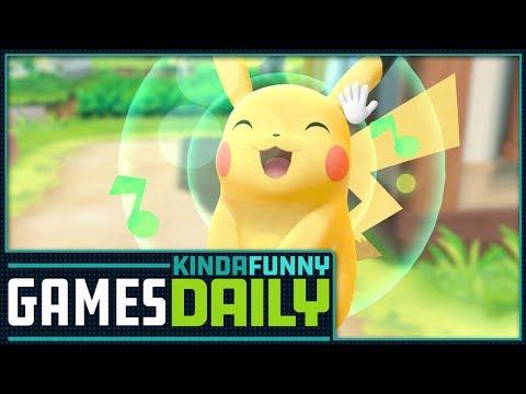 Pokemon Switch Bonanza! - Kinda Funny Games Daily 05.30.18