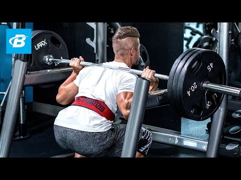 Hard & Heavy Leg Workout | Mike Hildebrandt