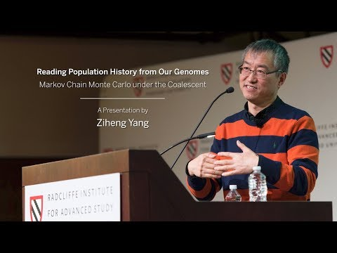 Reading Population History from Our Genomes| Ziheng Yang || Radcliffe Institute