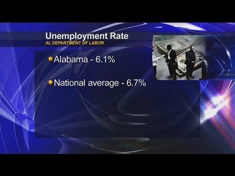 Alabama unemployment down to 6.1 percent