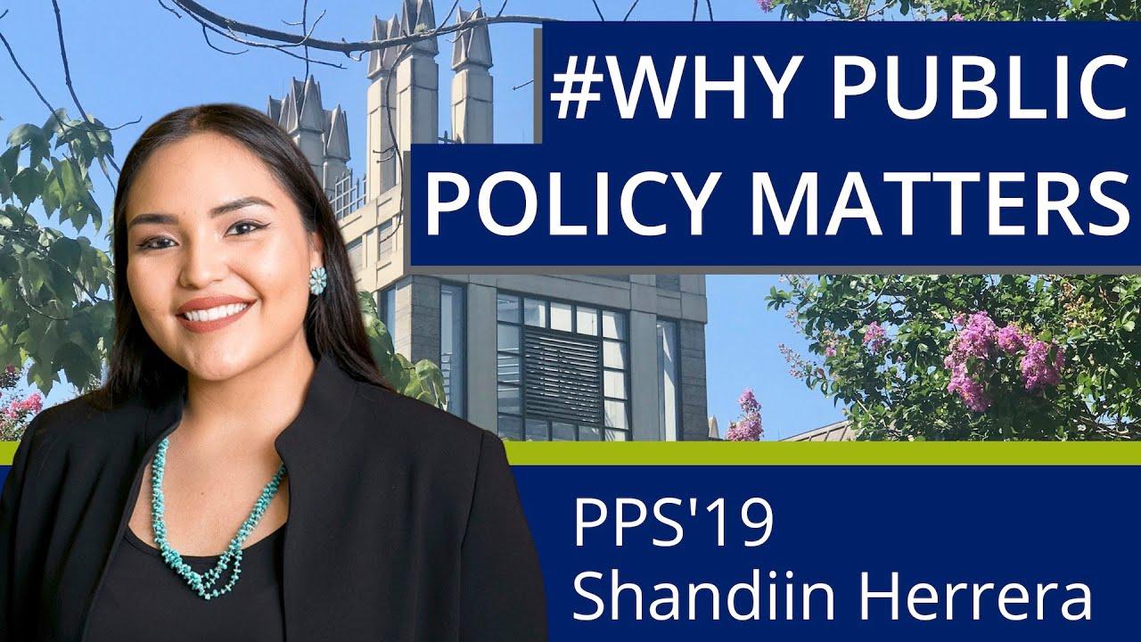 Why Public Policy Matters: Shandiin Herrera
