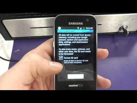 Samsung Galaxy Attain 4g Lte Factory Data Reset