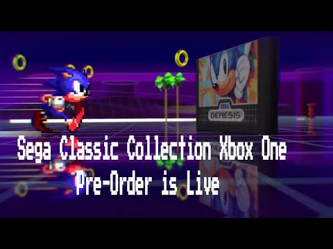 Sega Genesis Classic Games Pre-Order  Up on Xbox One Store!