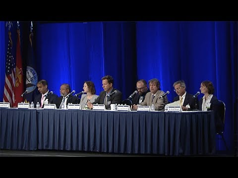 Task Force Ocean Panel Discussion at the 2017 Naval Future Force S&T Expo