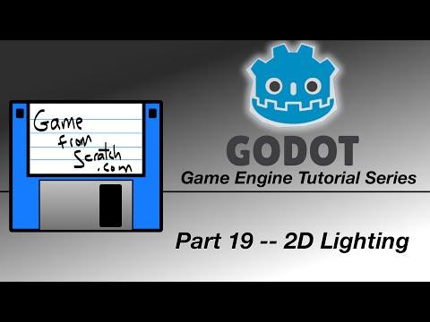 Godot Tutorial -- 2D Lighting