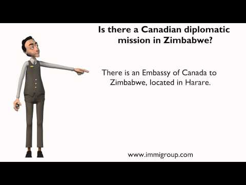 Is there a Canadian diplomatic mission in Zimbabwe?