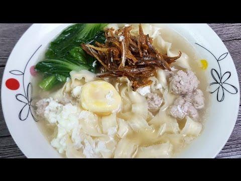Flat Noodle Soup (Ban Mian/板麵)