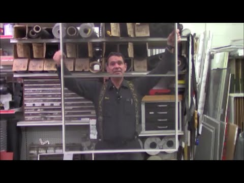 How to replace, repair a large nylon window screen fix