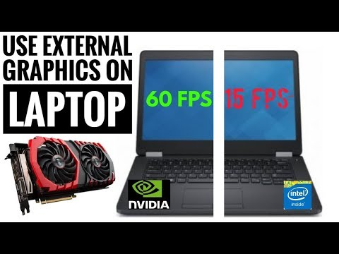 How to Connect External PC Graphics Card to Laptop (no thunderbolt port required) Egpu Setup