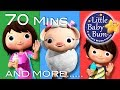 Mary Had A Little Lamb Part 2 Plus More Nursery Rhymes 70 Mins Compilation By LittleBabyBum mp3