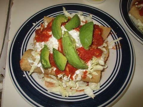 Wonderful Enchiladas in Red Tomato Sauce !!!!!!!
