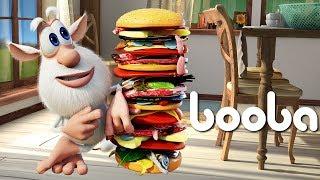 Booba - ep #18 - Hamburger 🍔 - Funny cartoons for kids - Booba ToonsTV