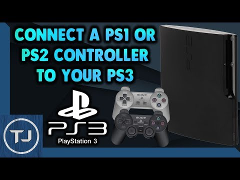 How To Connect A PS1 & PS2 Controller To PS3!