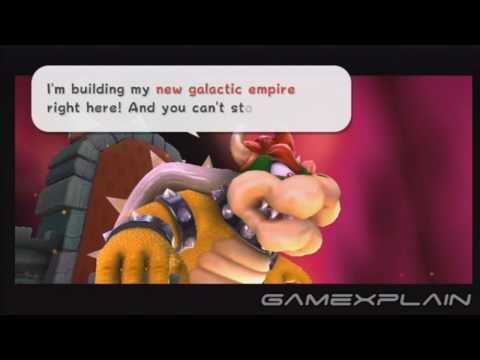 Super Mario Galaxy 2 Final Bowser Boss Battle (Spoilers!)