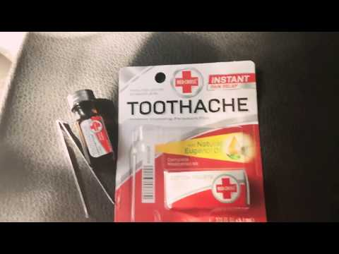 How To Get Rid Of A Toothache While On The Road Traveling Kills Tooth Pain in 3 Seconds