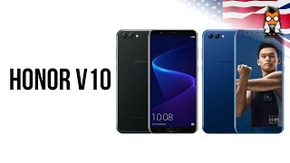 Honor V10 / Honor View 10 in a short hands on - The better Mate 10 Pro?