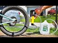 Filling a BMX TIRE with WATER!
