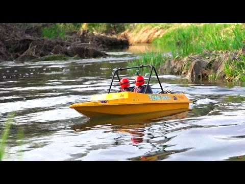 RC ADVENTURES - Jet Boat - NQD