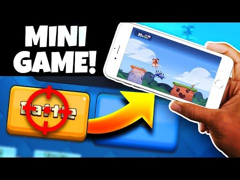 this mini game is hidden inside of Clash Royale...