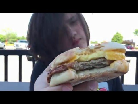 Sausage & Cheddar with Egg Sandwich at Starbucks