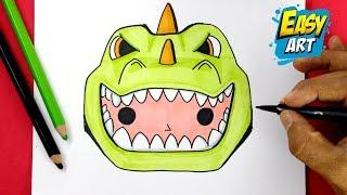 how to draw fortnite emoji kawaii how to draw rex skin como dibujar - kawaii fortnite characters