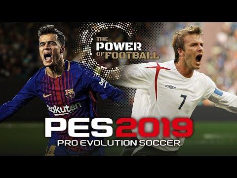 PES 2019 Announcement Trailer