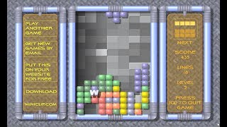 Miniclip.com Tetris (Flash game 200?)