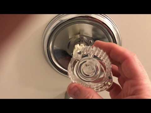 Bathtub Faucet Handle Fix