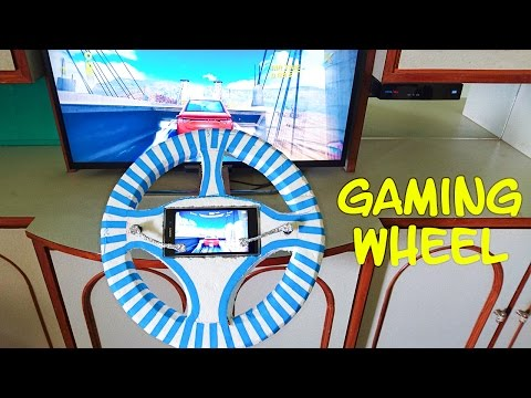 How to Make a Gaming Wheel at Home