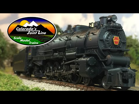 BLI PRR M1b 4-8-2 Locomotive Review in HO scale