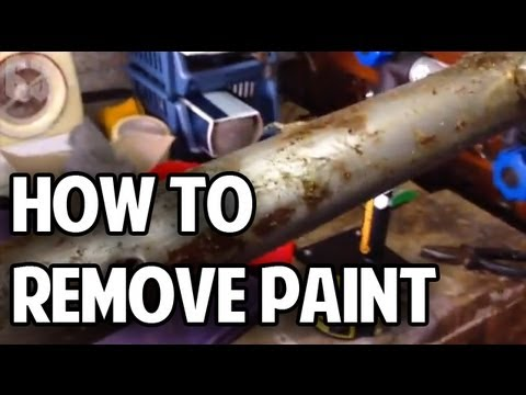 How To Remove Paint From Your Bicycle Frame