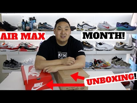 Air Max 270 + Air Force 270 Unboxed!! + $1000 Contest